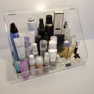 NEW Acrylic Makeup Organizer Display Case